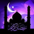 stylish ramadan kareem vector