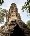 South gate of Angkor Thom Cambodia