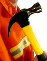 Hammer High Visibilibilty Jacket Construction Worker