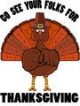 The Turkey Message.