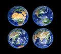 Four Globes