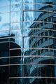 glazed facade of a modern building in Andorra la Vella
