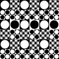 60-70's style seamless texture