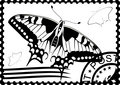 Postage stamp from Swallowtail