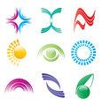 Bright logo vector collection