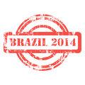 Brazil 2014 stamp