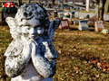 Gravesite - Angel - background