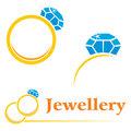 Rings with diamond