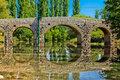 Stone bridge over Zrmanja river