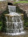 Stone Circular Waterfall