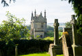 Churchyard and lodges in Chipping Campden