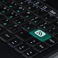 Speaker Icon on Computer Keyboard