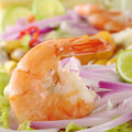 Peruvian Ceviche with Prawn