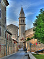 Vodnjan - hihgest bell tower in Istria
