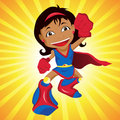 Black Super hero Girl.