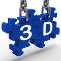 3D Means 3Dimensional High Definition Entertainment Vision