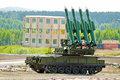 Four rocket launcher