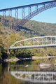 Bridges on New River in West Virginia