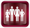 people icon red