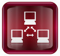 Network icon red