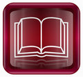 book icon red