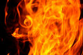 Campfire Flames