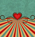Valentine Day vintage background