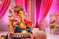 Image of Ganesh at Indian wedding