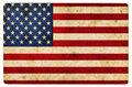 Grunge textured  illustration of  USA flag