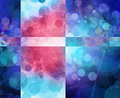 Colorful grunge textured bokeh background