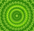 abstract eco bright green lives circle vector