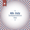Independence Day. 4th of July. Poster design with blue and red c