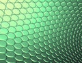 3d abstract backdrop in green