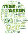 Think Green Eco Human Head