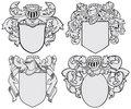 set of aristocratic emblems No5