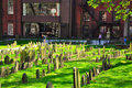 Granary Burying Ground, on the Freedom Trail of Boston city, USA is one of the most famous cemeteries in Boston today.