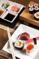 Delicious fresh sushi