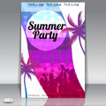 Summer Beach Party Flyer Design