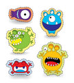 Cute Monster Collection Set Sticker