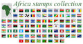 africa stamps collection