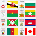 world flags and capitals set 4