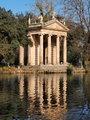 Villa Borghese Garden, Rome, Italy