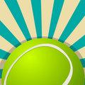 Tennis ball icon design