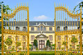 Golden gate in Herrenhausen Gardens, Hannover, Germany