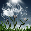 Abstract alternative energy backgrounds for your design