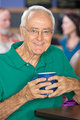 Happy Man with Cup