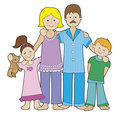 Family in Pajamas
